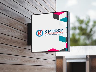 K Muddy Company Logo design