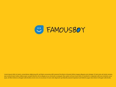 FAMOUS BOY logo design for your business