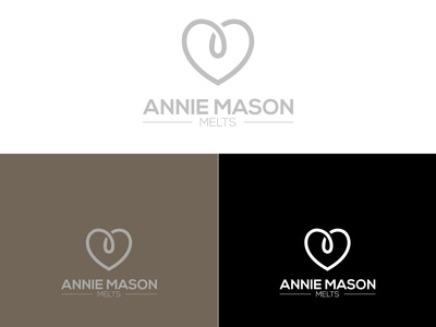 Annie Mason Melts Company Candle Logo design