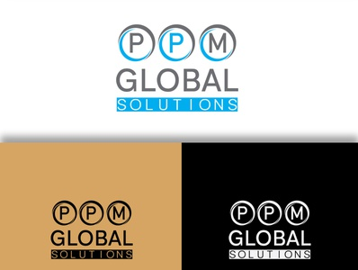 PPM Global Solutions logo design