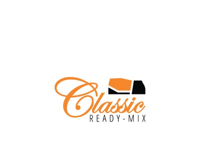 Classic Ready Mix Concrete logo design