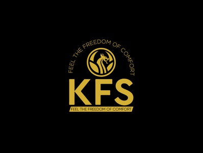 KFS with dragon logo design