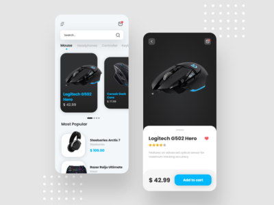 Gaming Gear Ecommerce App