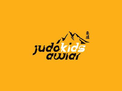 Judokids Awiar typography vector logo design