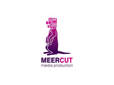 Meercut vector logo design