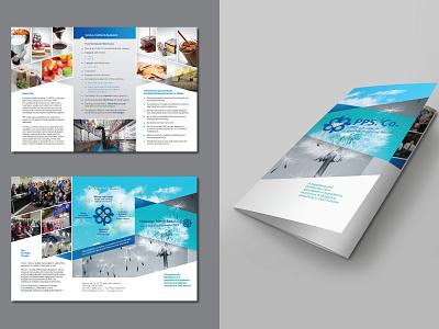 Brochure for PPS. Co. brochure layout brochure design brochure design