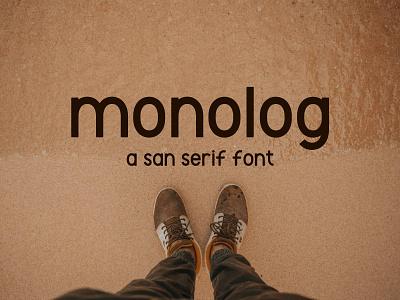 Monolog San Serif Font type sans san serif sans serif typeface vector fontstyle fonts typography font