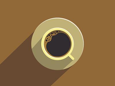 Coffee Flat Design corel draw coreldraw coffee flat design flatdesign illustration vector illustrator design adobe