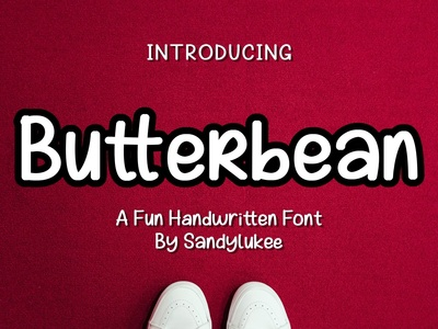 Butterbean A Fun Handwritten Font