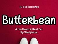 Butterbean A Fun Handwritten Font
