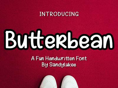 Butterbean A Fun Handwritten Font handwritten adobe illustrator handlettering typography fontstyle fonts font