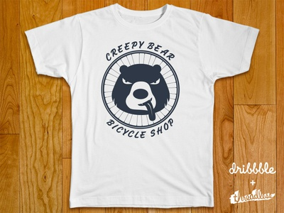 Creepy Bear Bicycle Shop