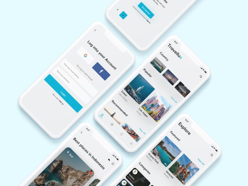 Travel  App ui mobiletrends 2020 trends mobileinspiration mobile app trending interface flat uidesign flatdesign minimal app design uiuxdesign uiux 2020