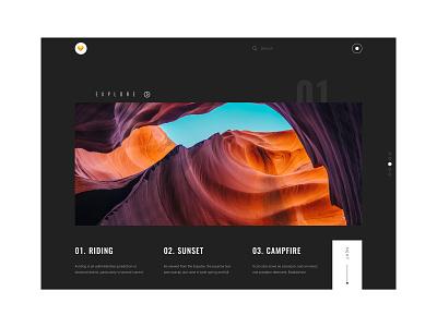 Explore Pham Huy Dark Version website design dark ui minimal