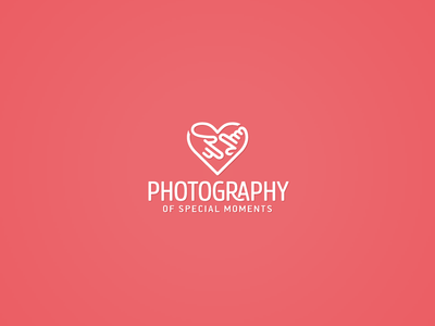 Heart Photography logo design