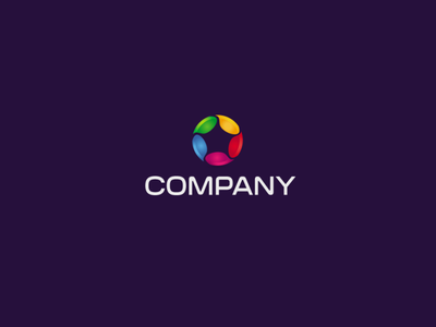 Color Drops logo design