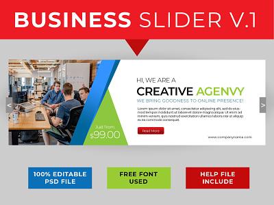 Business Slider Web slider design slider