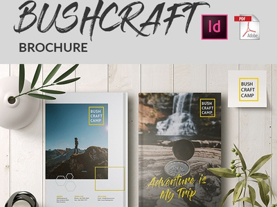 Bushcraft Brochure brochure magazine design