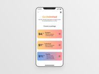 Daily UI #030 - Pricing unlimitedfeatures pricingpage pricingmodel pricing dailyui productdesign designinspiration uiinspiration userexperience appdesign userinterface uiux designs ui uidesign