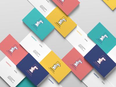 Business card design for Happetsy - pets dog shop