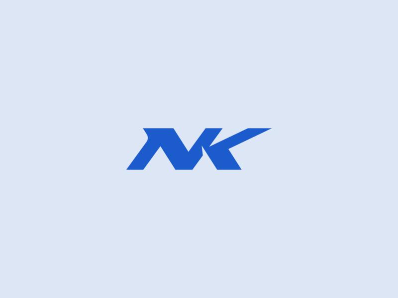 NK Logo nk letter nk logo letter design logo design logodesign logo branding design branding brand identity brand design brand