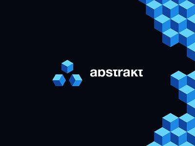 Abstrakt Logo abstrakt logo abstract logo abstrakt abstract a logo cube logo cube a letter design logo design logodesign logo branding design branding brand identity brand design brand