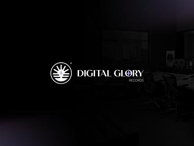 Digital Glory Records records vector design logo design logodesign logo branding design branding brand identity brand design brand