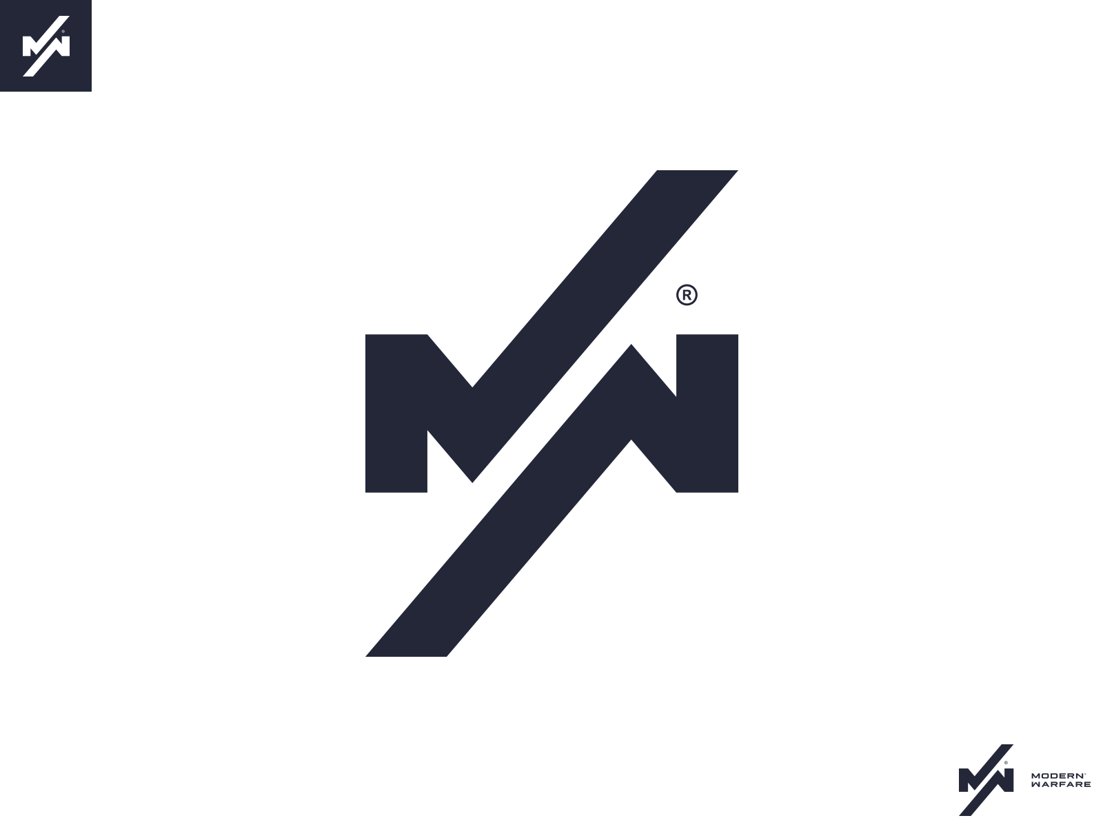 Call Of Duty Modern Warfare Logo Concept By Jimper On Dribbble