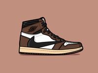 Aj1 sneaker