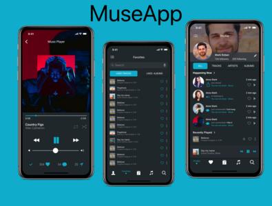 Music App daily ui 009