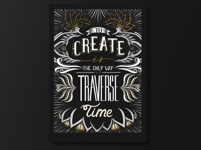#1 Lettering project - Poster letters illustration lettering art poster design caligraphy typographic graphic poster typography lettering