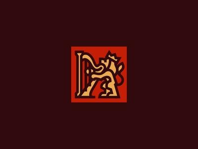 Leo & Harp Logo