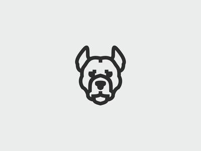 Pitbull Dog Logo