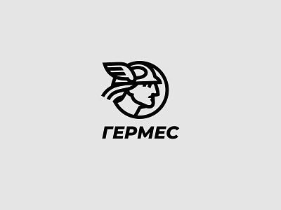 Hermes Logo Design activewear sport logo branding clothing brand greek mythology hermes