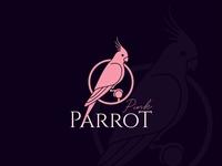Pink Parrot Logo