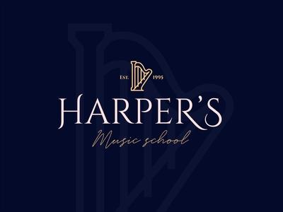 Harpers Music School Logo