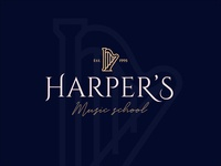 Harpers Music School Logo