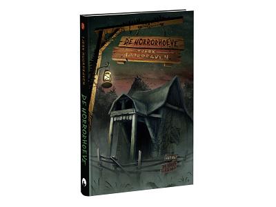 Part 3: De horrorhoeve collage childrens illustration illustration coverillustration coverdesign bookcover book horrorbook