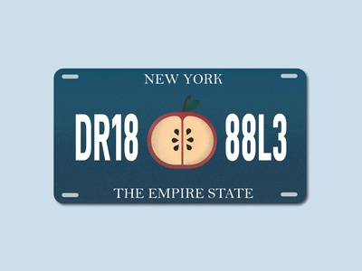 Weekly Warmup #24 - NYS License Plate
