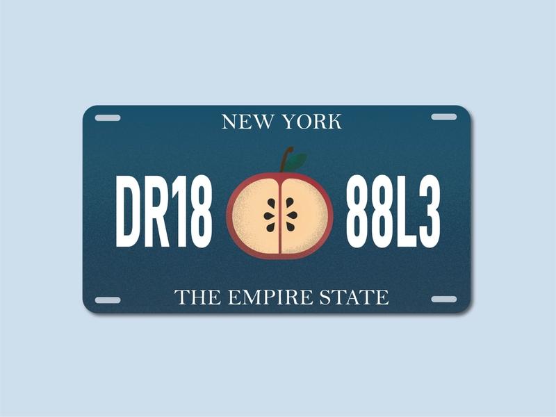 Weekly Warmup #24 - NYS License Plate