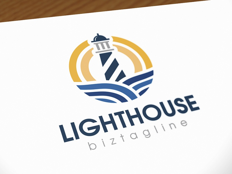 Lighthouse Logo by Ruben - Dribbble