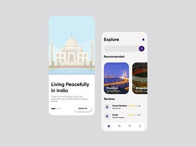 Travel UI Design icon adobexd figma ux ui design