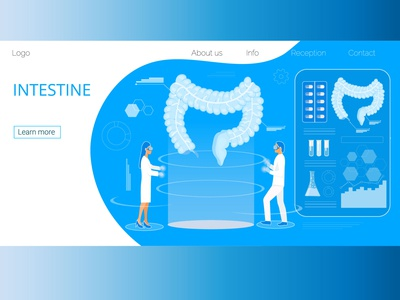 Medicine landing page