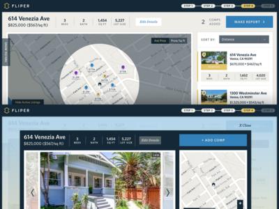 Map Property search