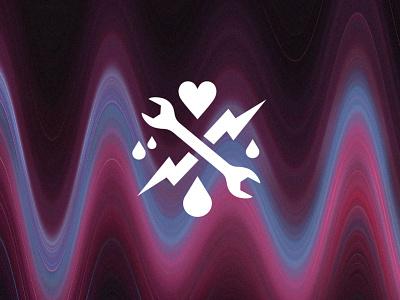 Site Update grain motion blur waves logo portfolio website