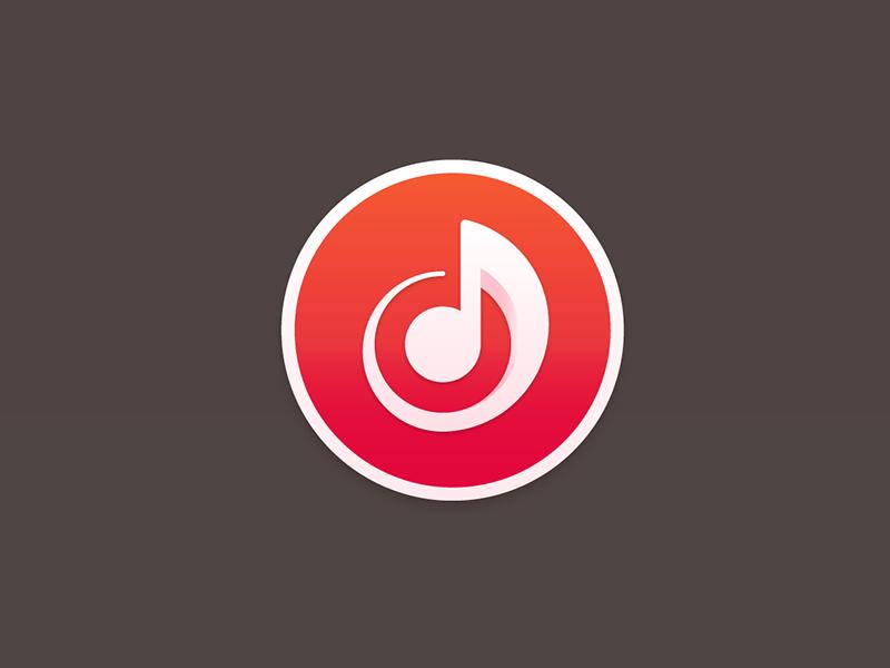 iTunes itunes rebrand music note icon spin logo yosemite apple osx app share