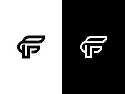 F flame fire typography symbol mark line monogram logo logotype letter f monoline