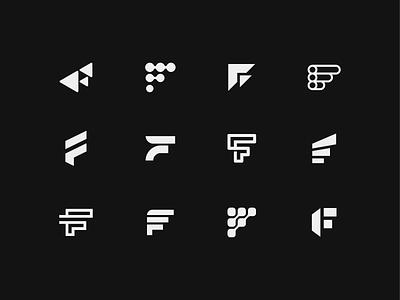FFFF icon mark symbol monogram logo shape typography letter f