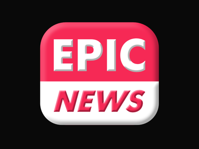 Epic News - DAY 37 (Daily Logo Challenge)