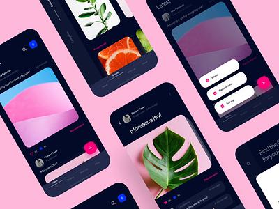 Crowdsource - Dark vs Light recommendations light mode dark mode design mobile app design ios motion ux ui minimal